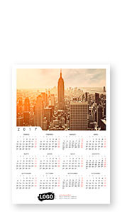 Calendario da parete 21x30 cm simple