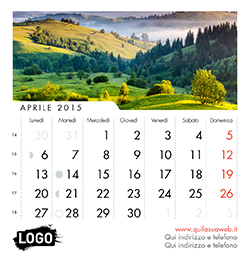 Calendari personalizzati calendari da tavolo calendari con immagini personalizzate - Calendari da tavolo con foto ...